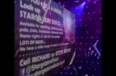Stargazers Disco, for Birthday Parties and Weddings