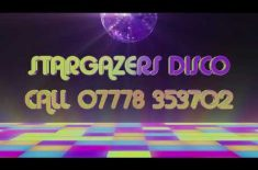 Stargazers Disco for Birthday Parties and Weddings taking bookings for 2021,2022